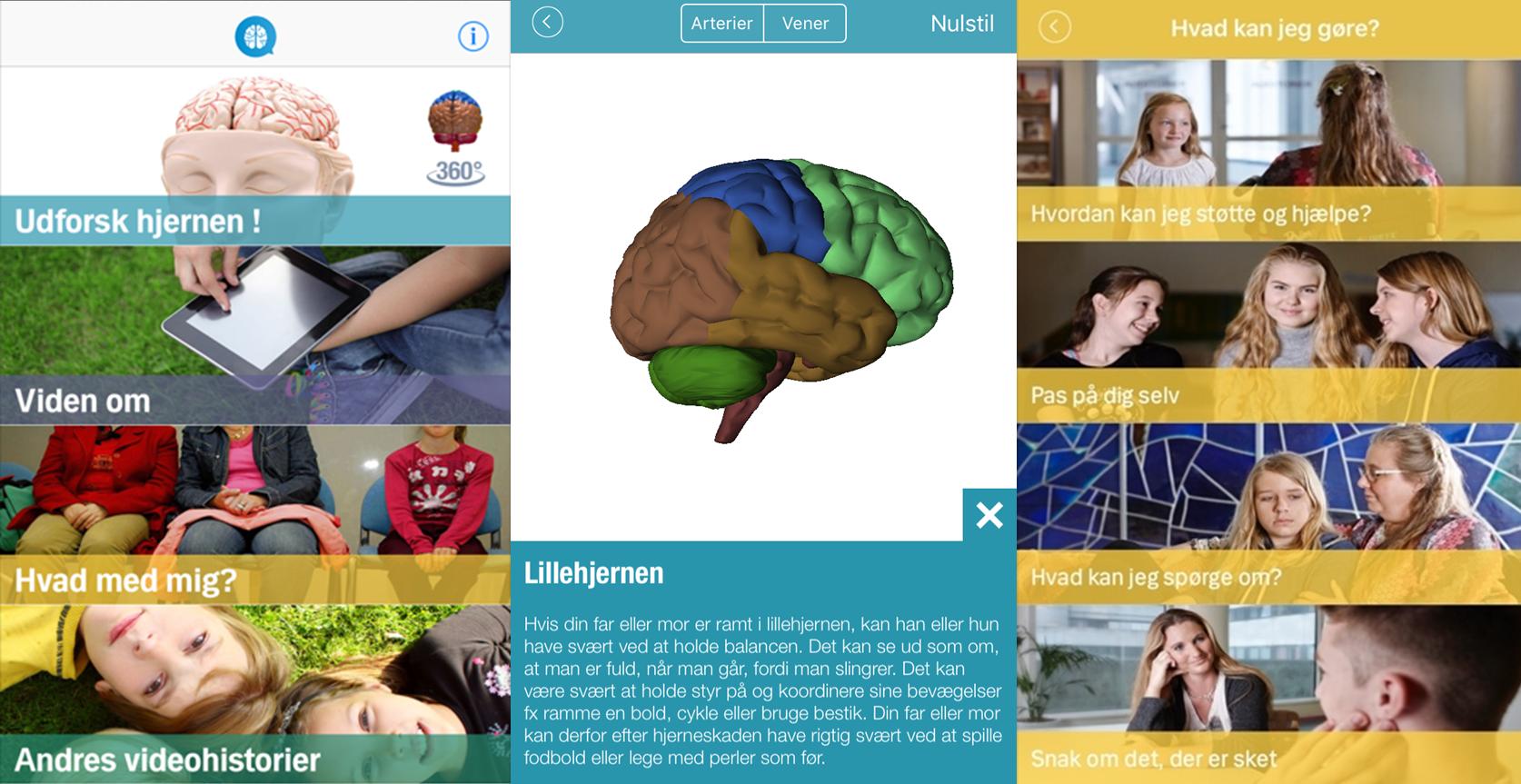hjernehjælper app