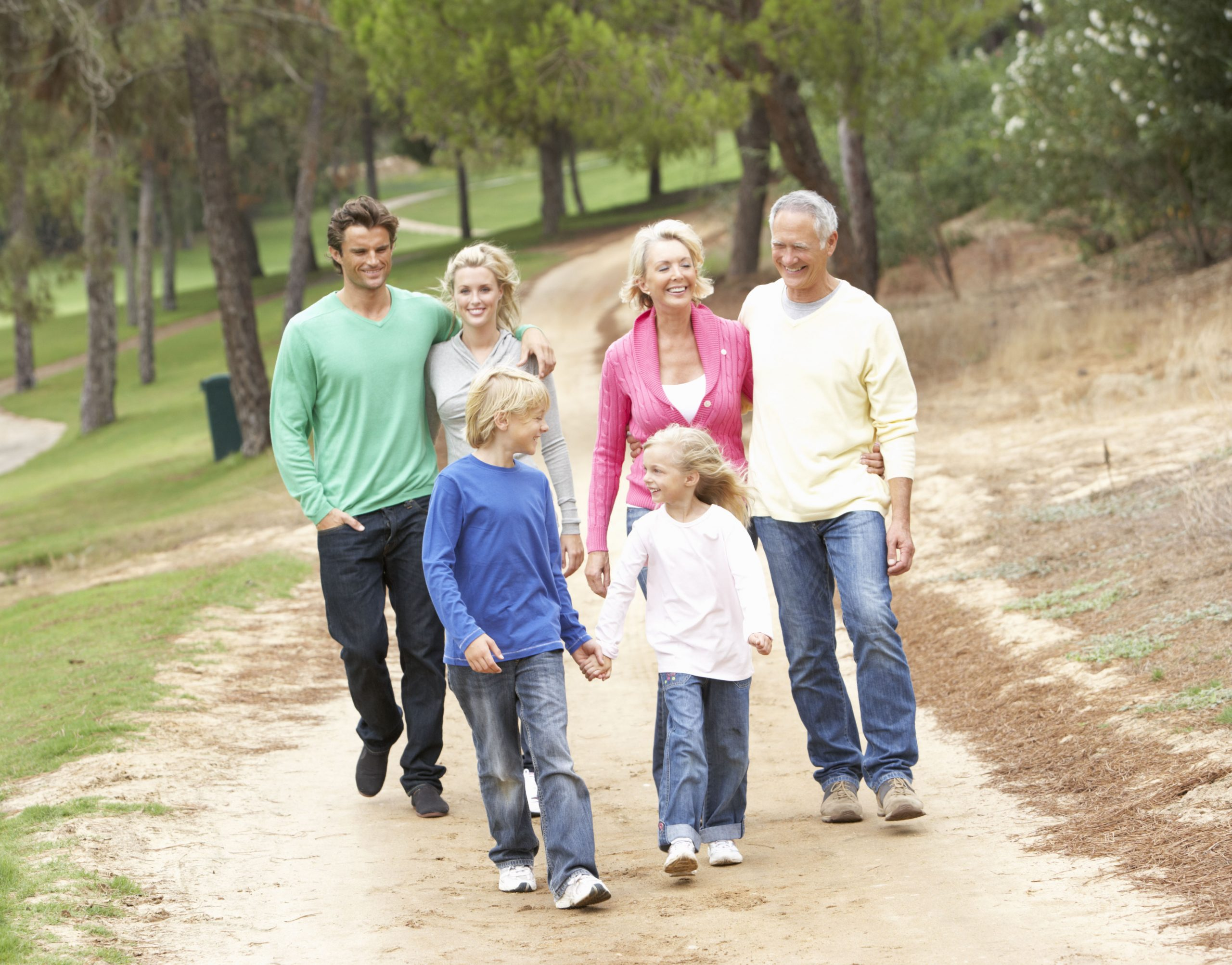 generationer på gåtur