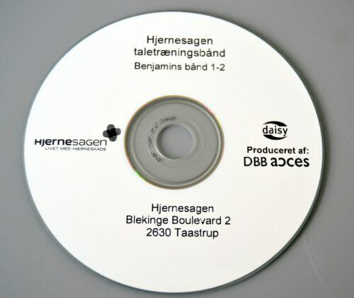 Benjamins bånd CD 1+2 ca. 75 min.