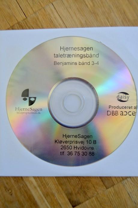 Benjamins bånd CD 3+4 ca. 75 min.