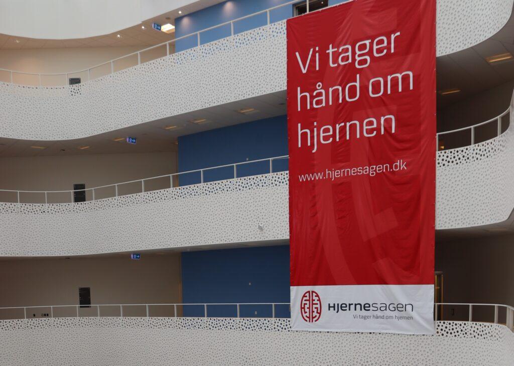 Hjernesagen Banner åbning af StrokeLinjen