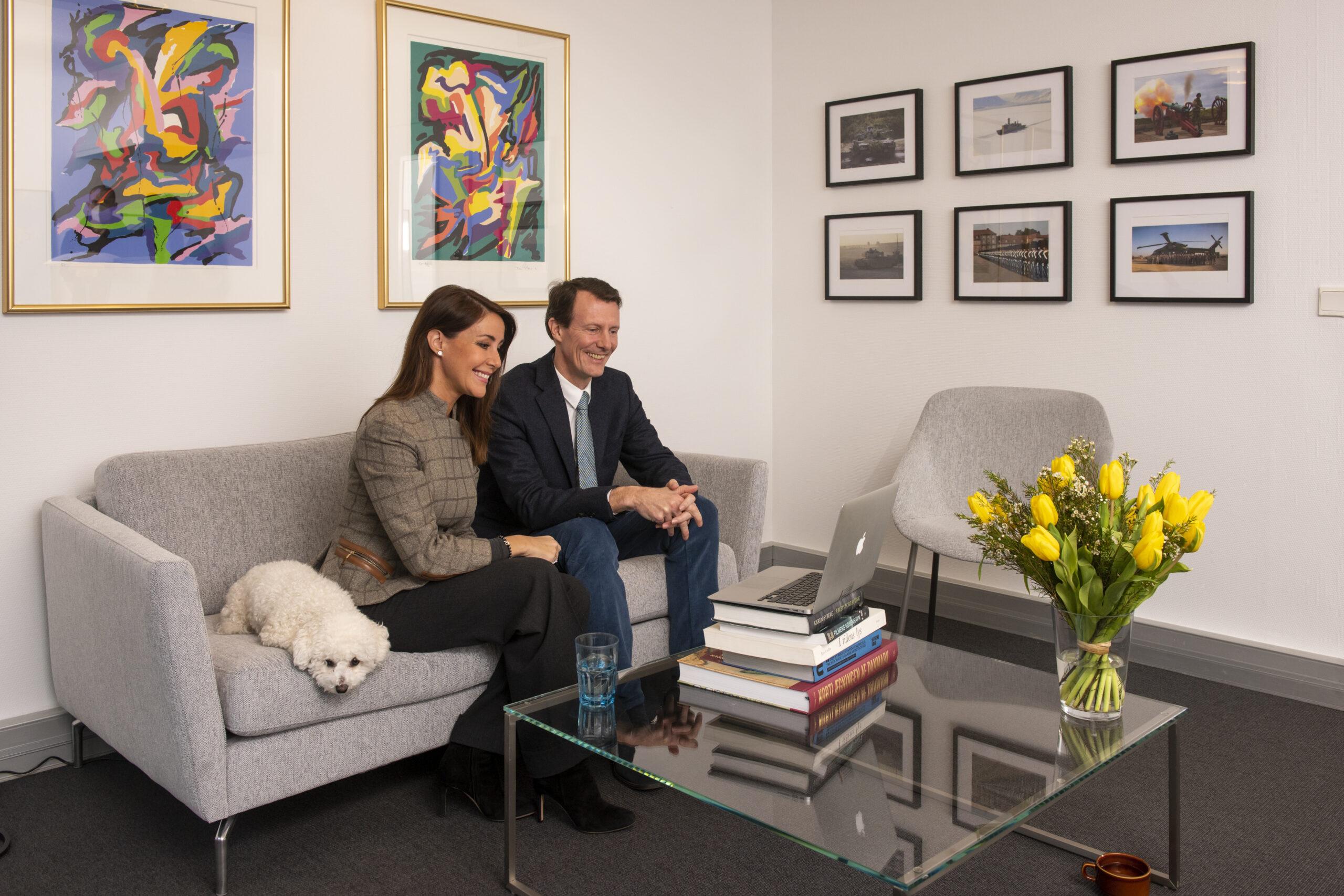 Hjernesagen interview med Prins Joachim og Prinsesse Marie stroke blodprop