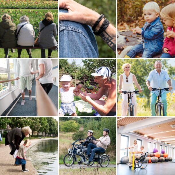 collage af mennesker til medlemsundersøgelse 2021