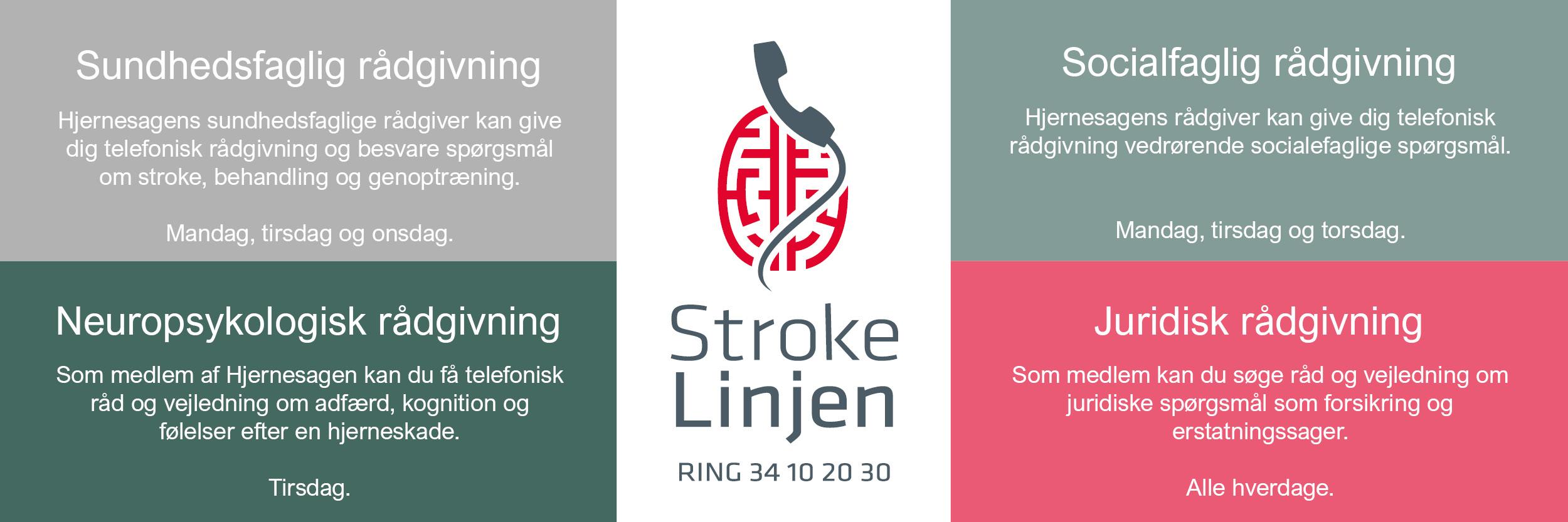 strokelinjens rådgivning