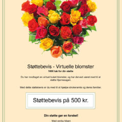 Støttebevis Blomster4