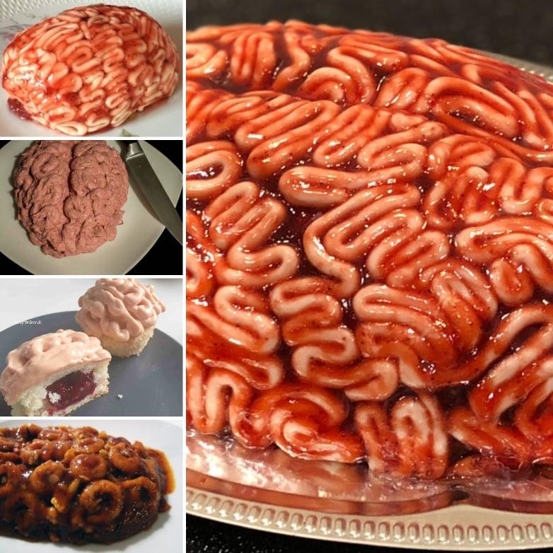 Hjernemad hjernekage hjernemuffins